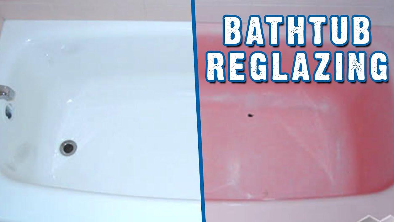 Bathtub Reglazing Worcester MA - Miracle Method - YouTube