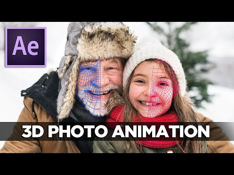 3D PHOTO ANIMATION | After Effects & VoluMax TUTORIAL
