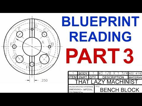 MACHINE SHOP LESSON 4, BLUEPRINT READING PART 3 Marc L'Ecuyer