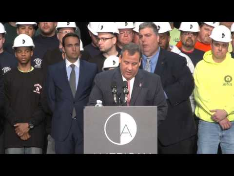 Governor Christie on American Dream: No Longer the Ugliest Damn Building In America