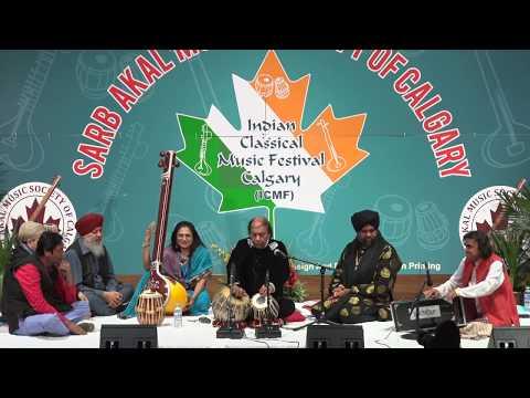 Ustad Tafu Khan Sahib Tabla Solo ICMF CALGARY 2017 @ Sarb Akal