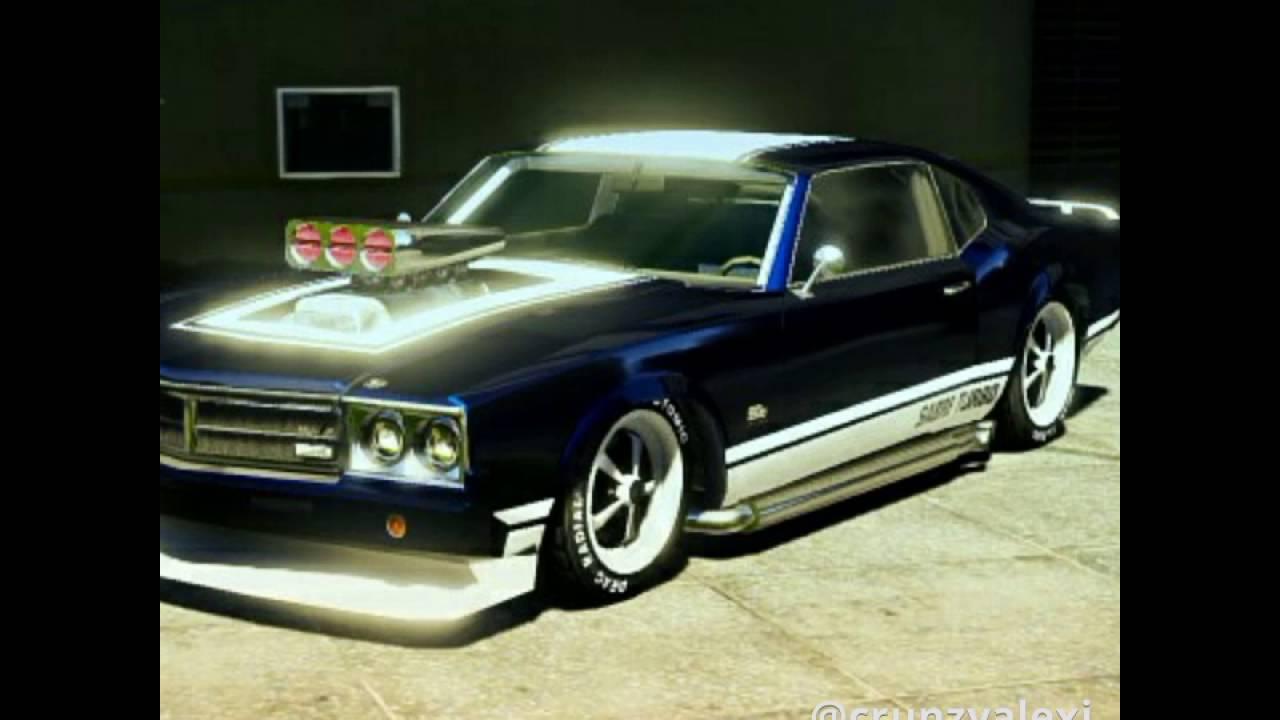 Les belles voitures de GTA 5