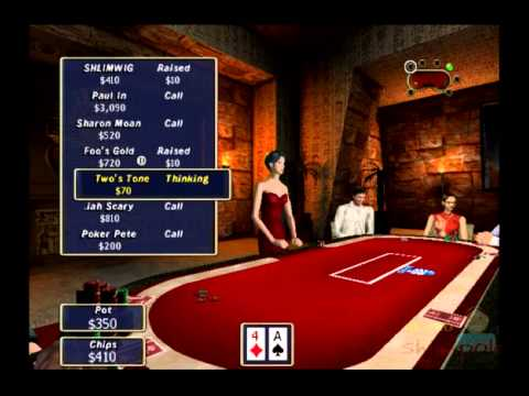 Play Wize Poker Casino Ps2 Gameplay 505 Games Bits