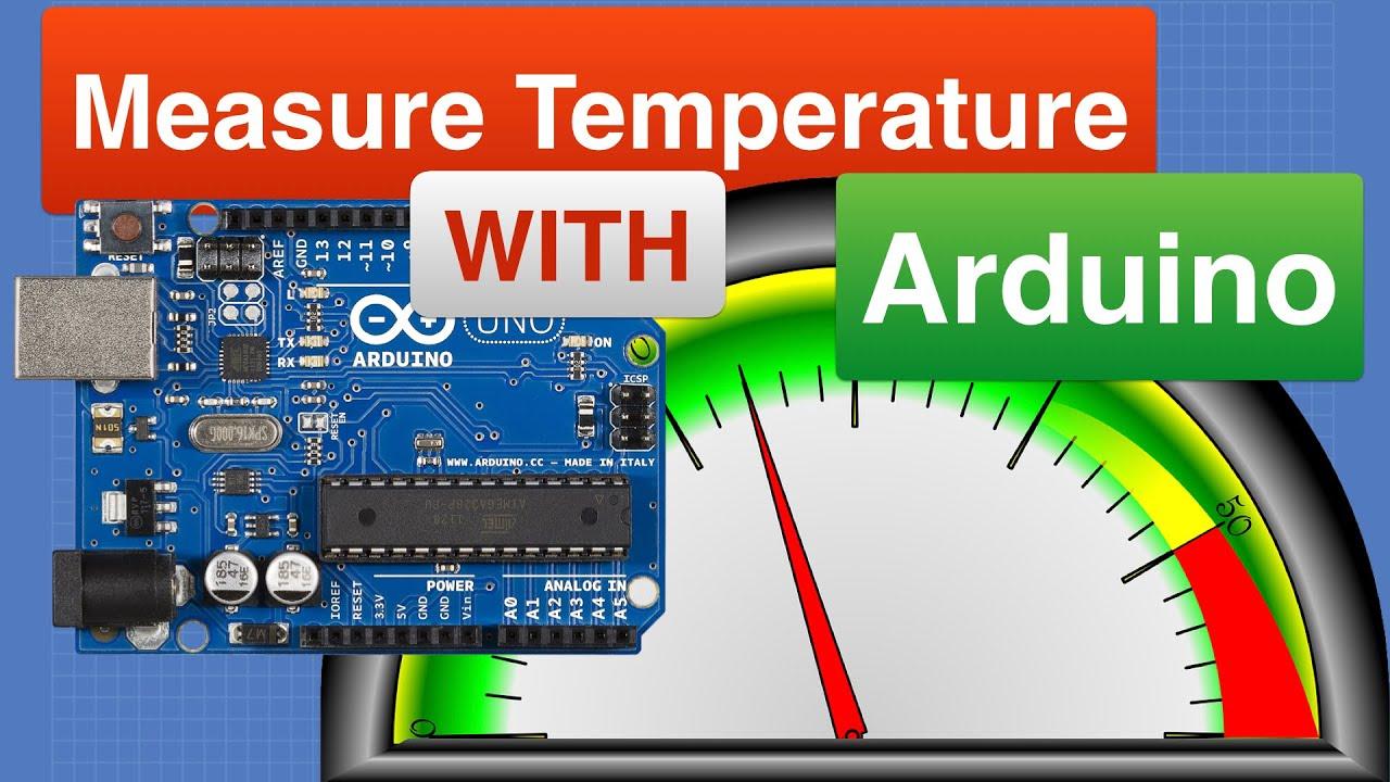 Measuring Temperature with Arduino - 5 Sensors