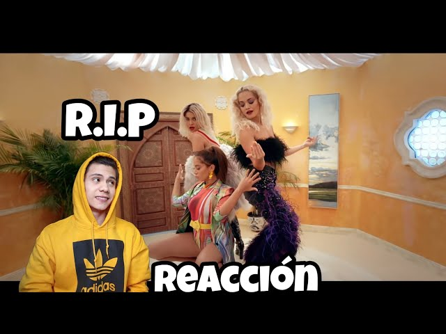 Sofia Reyes - R.I.P. (feat. Rita Ora & Anitta)[OFFICIAL MUSIC VIDEO] (Reaccion)