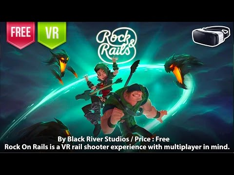 Rock & Rails Gear VR - A VR rail shooter experience with mul