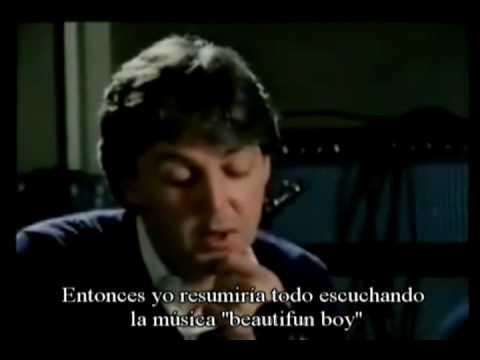 Paul mccartney Recuerda a John Lennon  (Entrevista en Español)