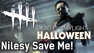 Nilesy Save Me! | Dead by Daylight Survivor with HybridPanda and Nilesy