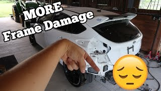 I Found MORE Frame Damage Hiding on my Focus RS! I