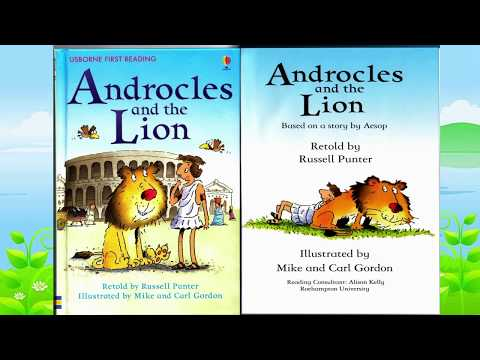 Androcles and the Lion | Read aloud by little girl Clover