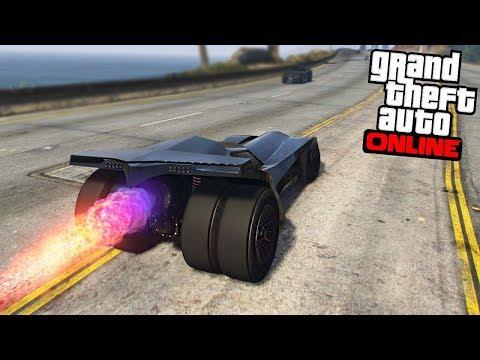GTA 5 DLC - BATMOBILE