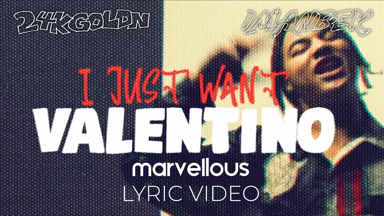 24kGoldn & Imanbek – Valentino (Lyric Video)