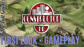 Constructor FIRST LOOK *** First Let's play *** Gameplay  Full HD
