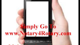 Where To Get Something Notarized After Hours : FROM CELL PHONE !
