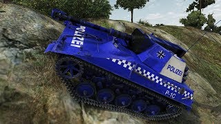 World of Tanks Spahpanzer SP I C (SydneyTanks Skin) 4828 DMG 1874 EXP Kolobanov's - Swamp