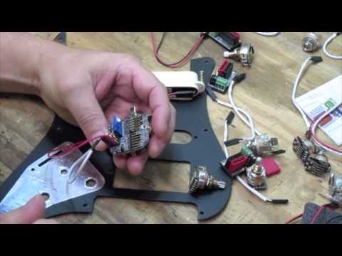 EMG 3 Pickup Wiring Conversion Kit - YouTube