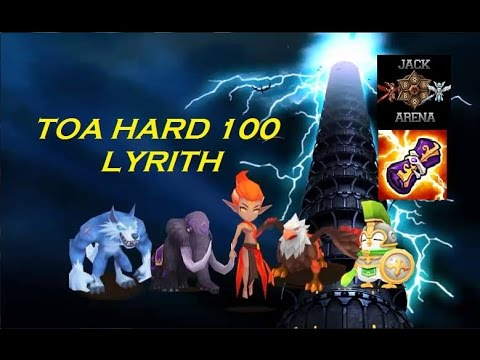 TOA Hard 100 - Lyrith - com : Barreta, Basalt, Spectra, Mav e Vigor! Arena Summoners War