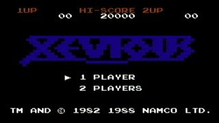 Xevious - NES Gameplay