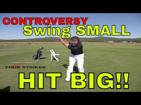 Martin Chuck | Swing Small – Hit Big | Tour Striker Golf Academy