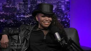 Jasmine Sanders Presents the  Jazzy Report on The DL Hughley Show (Tisha Campbell)