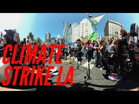 Climate Strike Los Angeles Featuring Jane Fonda