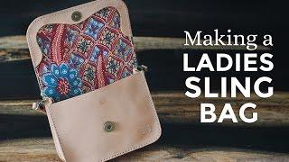 Making a Leather Ladies Sling Bag ⧼Week 2/52⧽
