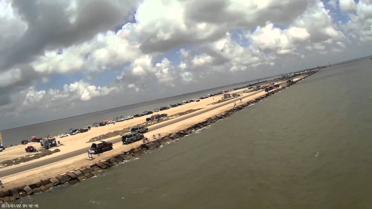 Texas city dike youtube for Texas city dike fishing