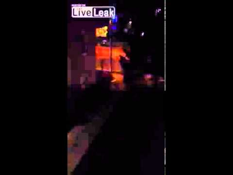 Shootout between Boston Suspects and Police in Watertown,Mass