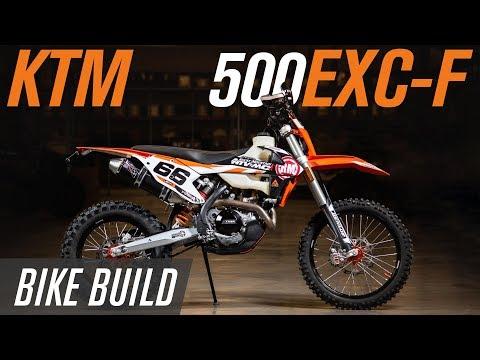 2018 KTM 500 EXC-F | Bike Build