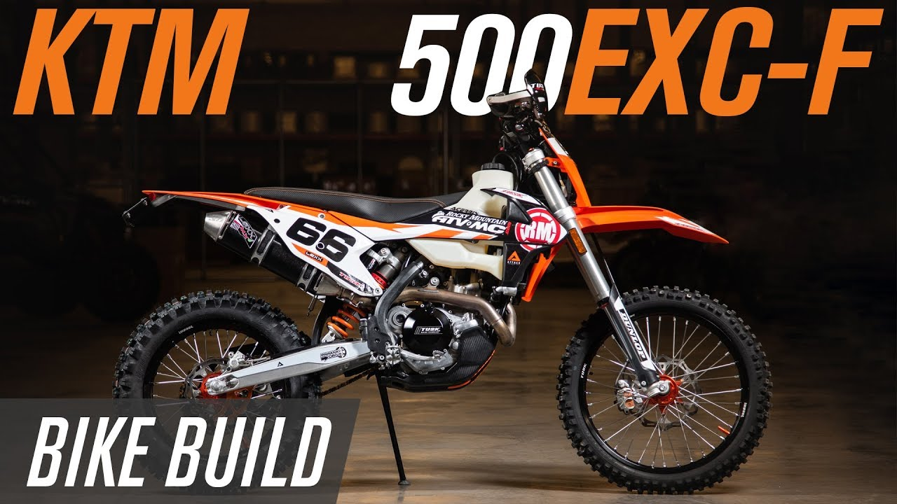 KTM 500 EXC-F Bike Build: Getting the Most Off-Road Performance from