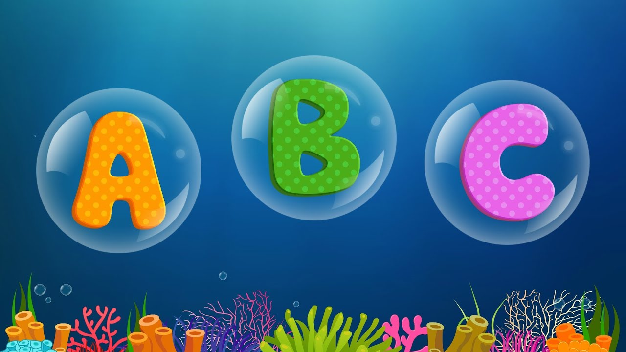 Abc Songs For Children Abcd Song In Under Sea Phonics