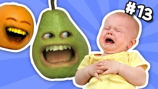 annoying orange ask orange 13 pear hates babies