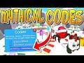 MYTHICAL ROBLOX MINING SIMULATOR CODES!!