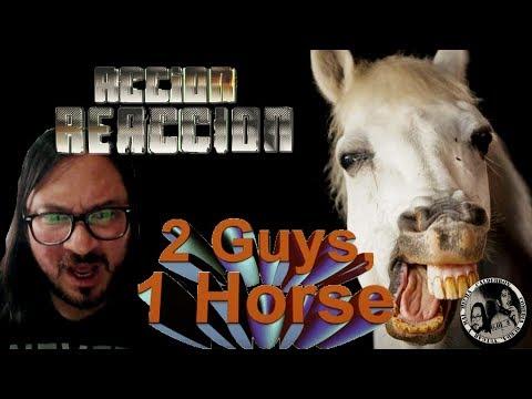 2 guys 1 horse video