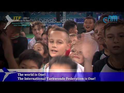 The world is One! The ITF (International Taekwondo Federation)is One!