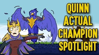 Quinn ACTUAL Champion Spotlight
