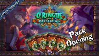 PACK OPENING HEARTHSTONE - O RINGUE DO RASTAKHAN [RASTAKHAN's RUMBLE]