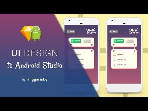 Rewards UI Design to Android XML Tutorial