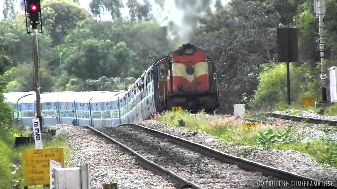 Roller Coaster Train : Mysuru Jaipur Superfast Express