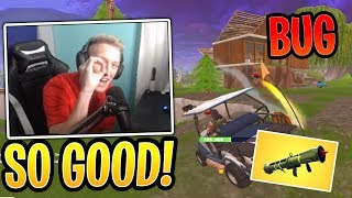 Tfue Finds Guided Missile BUG! - Fortnite Best and Funny Moments