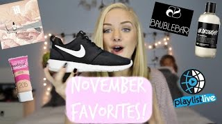 November Favorites | Maddi Bragg Thumbnail