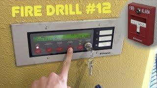 School Fire Drill #12: Simplex Annunciator