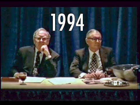 1994 Berkshire Hathaway Annual Meeting Warren Buffett Charlie Munger Bill Ackman FULL Q&A