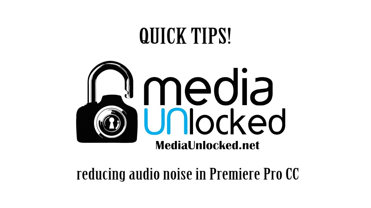 HOW TO REMOVE AUDIO NOISE IN PREMIERE PRO CC: Quick Tips
