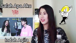 Download lagu ILIR 7 - Salah Apa Aku (SING-OFF) vs Indah Aqila (Video Reaction)