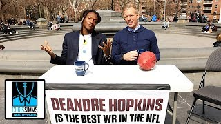 DeAndre Hopkins challenges fans to tell him he's not NFL's best WR | Chris Simms Unbuttoned