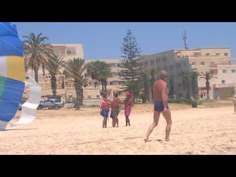 Запуск парашута *** Tunisia, Hammamet - 2018 ***