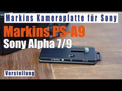 Markins Kameraplatte PS-A9 für Sony Alpha 7/9 deutsch Schnellwechselplatte