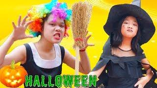 Trang Điểm Halloween Cực Đẹp ❤ Cách Làm Trang Phục Halloween - Trang Vlog