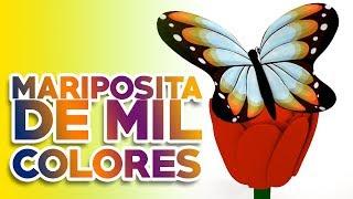 Mariposita De Mil Colores - Con Amor a los Niños - Francisco Orantes //